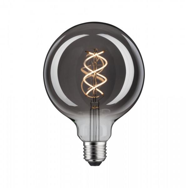 LED Globe 4 Watt E27 Rookglas Warmwit Dimbaar