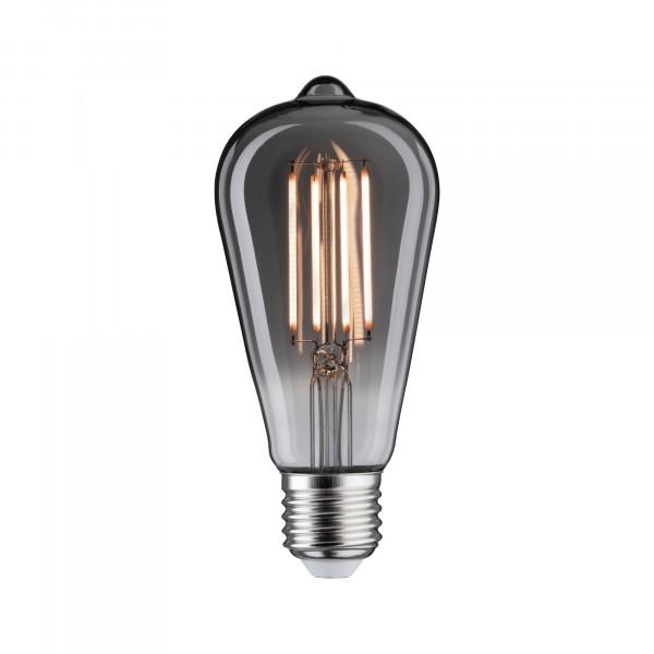 LED Vintage Speciaal 7,5 Watt E27 Rookglas 2200K Dimbaar