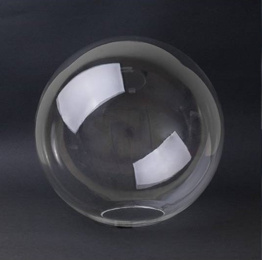 Glasbol zonder kraag. verkrijgbaar in Helder,Opaal, Opaal mat en Helder met bubble.